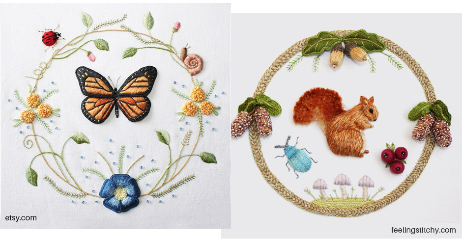 inspiracao-bordado-stumpwork-animais