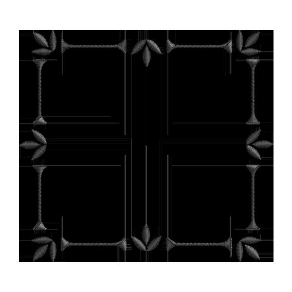 Moldura Retangular Png