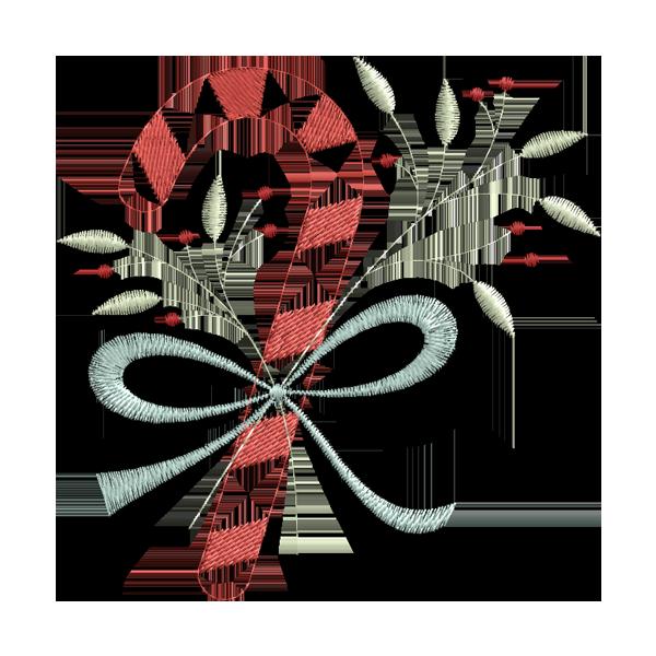 Enfeite De Natal Bordados De Coracao